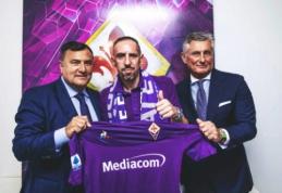 "Oficialu: F. Ribery karjerą tęs ""Serie A"" pirmenybėse"