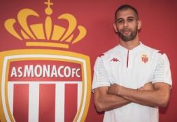"""Oficialu: """"Monaco"""" pasiskolino puolėją I. Slimani"""