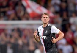 """A. Ramsey: """"Džiaugiuosi, kad tapau Italijos futbolo dalimi"""""""