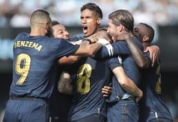 """""""Real"""" dešimtyje susitvarkė su """"Celta"""", """"Valencia"""" apmaudžiai prarado taškus"""
