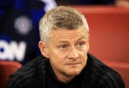 """Solskjaeras paaiškino, kodėl neieškojo pamainos į """"Inter"""" išvykusiam R. Lukaku"""