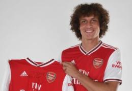 """Oficialu: D. Luizas iš """"Chelsea"""" keliasi į """"Arsenal"""""""