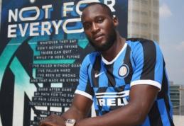 """Oficialu: R. Lukaku keliasi į Milano """"Inter"""""""