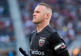 "Oficialu: W. Rooney prisijungs prie ""Derby County"" ekipos"