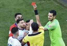 Paaiškėjo, kokios bausmės sulaukė kritikos žodžiais prapliupęs L.Messi
