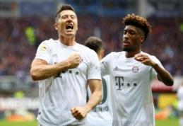 R. Lewandowskis pasiekė dar vieną rekordą Vokietijos pirmenybėse