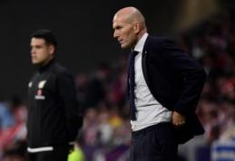 """Z. Zidane'as: """"Manau, kad buvome verti pergalės"""""""