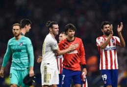 Blankiame Madrido derbyje – nulinės lygiosios