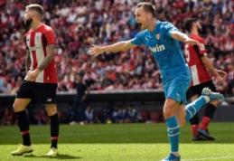 """""""La Liga: """"Athletic"""" patyrė pirmąją nesėkmę"""