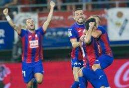 """""""Eibar"""" sensacingai palaužė """"Sevillą"""", """"Real Sociedad"""" kyla į antrąją vietą"""