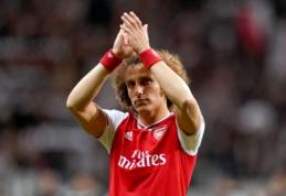 """P. Mersonas: """"Davidas Luizas turėtų tapti """"Arsenal"""" kapitonu"""""""