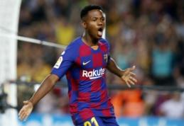 """""""Barcelona"""" talentas A. Fati atstovaus Ispanijai"""
