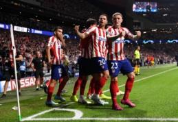 """PSG smogė """"Real"""" vienuolikei, """"Atletico"""" pasiekė dramatiškas lygiąsias prieš """"Juventus"""""""