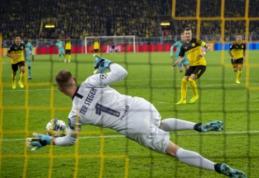 """Dortmunde sieną pastatęs Ter Stegenas: """"BVB galėjo įmušti ne vieną įvartį, džiaugiamės dėl taško"""""""