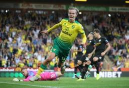 """Šventė Liverpulyje: """"Norwich"""" nubaudė """"Man City"""" futbolininkus"""