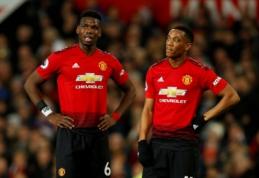 """""""Man Utd"""" rungtynes su """"Leicester City"""" pasitinka išretėjusiomis gretomis"""