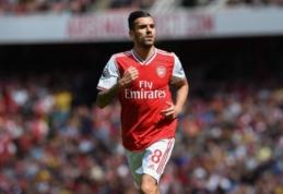 """""""Arsenal"""" fanų numylėtiniu tapęs D. Ceballosas: """"Jaučiuosi tarsi klube žaisčiau ne pirmus metus"""""""
