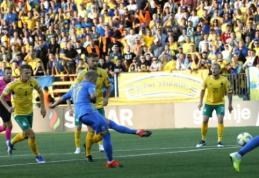 Lyg namuose žaidę ukrainiečiai nepaliko šansų Lietuvos rinktinei