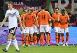 EČ atranka: Nyderlandai atsirevanšavo vokiečiams, kroatai sutriuškino slovakus