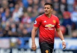 """A. Sanchezas: """"Esu labai laimingas, kad persikėliau į """"Manchester United"""""""
