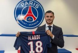 Oficialu: M. Icardi nuomos pagrindais išvyksta į PSG