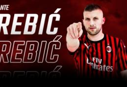 """Oficialu: """"Milan"""" ir """"Eintracht"""" apsikeitė puolėjais"""