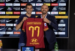 """H. Mkhitaryanas oficialiai palieka """"Arsenal"""" klubą"""