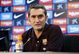 """E. Valverde papiktino M-A. ter Stegeno žodžiai po rungtynių su """"Slavia"""""""