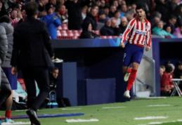 """Čempionų lyga: A. Morata įvartis padovanojo pergalę """"Atletico"""" komandai"""