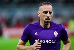 Apvogtas F. Ribery svarsto apie persikėlimą į kitą klubą