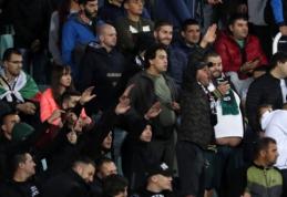 Bulgarų policijos rankose – šeši rasizmo skandalą rungtynėse su anglais sukėlę sirgaliai