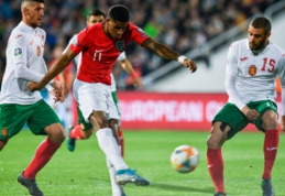 M. Rashfordas po skandalingų rungtynių Bulgarijoje išreiškė pagarbą varžovų kapitonui