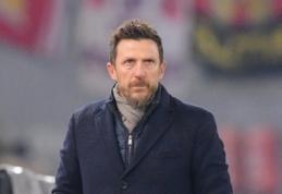 E. Di Francesco antrą kartą per metus neteko trenerio darbo