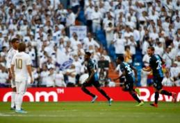 """Be pergalės liekantis """"Real"""" tik rungtynių pabaigoje iškovojo tašką prieš """"Club Brugge"""""""