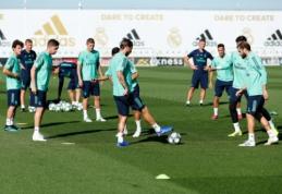 """""""Real"""" į kovą prieš """"Club Brugge"""" stos be G. Bale'o ir J. Rodriguezo"""