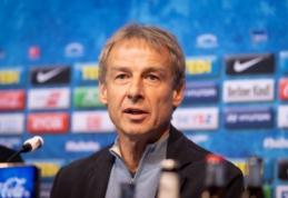 J. Klinsmannas grįžta į trenerio kėdę