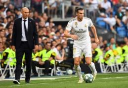 """G. Bale'ą užstojęs Z. Zidane'as: """"Jis vis dar gali būti svarbus mūsų komandai"""""""