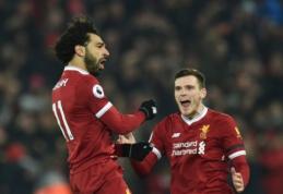 """M. Salah ir A. Robertsonas greičiausiai praleis rungtynes su """"Crystal Palace"""""""