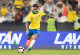 Brazilai draugiškose rungtynėse nugalėjo Pietų Korėją