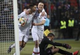 Portugalija užsitikrino vietą Europos čempionate