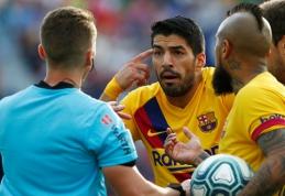 """L.Suarezas: mano laikas """"Barcelona"""" klube artėja prie pabaigos"""