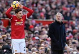 """V. Lindelofas: """"Mourinho yra vienas geriausių trenerių pasaulyje"""""""