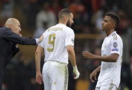 """Z. Zidane'as apie Rodrygo: """"Svarbiausia nesukelti nereikalingo spaudimo"""""""