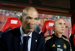 """Z. Zidane'as: """"La Liga"""" pirmenybėse nėra lengvų rungtynių"""""""