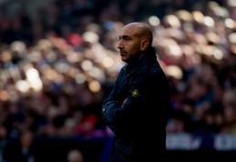 """""""Espanyol"""" trečią kartą šiame sezone pakeitė trenerį"""