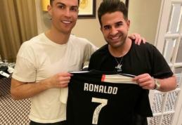 POP: C. Ronaldo švenčių proga pakeitė šukuoseną