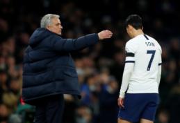 FA neįsiklausė į J. Mourinho žodžius: H-M. Sonas praleis trejas artimiausias rungtynes