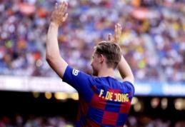 """F. de Jongas: """"Nesitikėjau, kad taip greitai tapsiu """"Barcelona"""" žaidėju"""""""