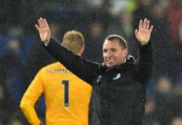 """B. Rodgersas nepatenkintas savo komandos tvarkaraščiu """"Premier"""" lygoje"""