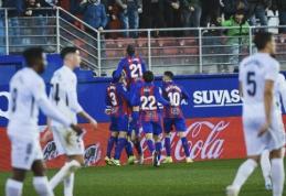 """""""Eibar"""" nutraukė penkių nelaimėtų rungtynių seriją """"La Liga"""" pirmenybėse"""